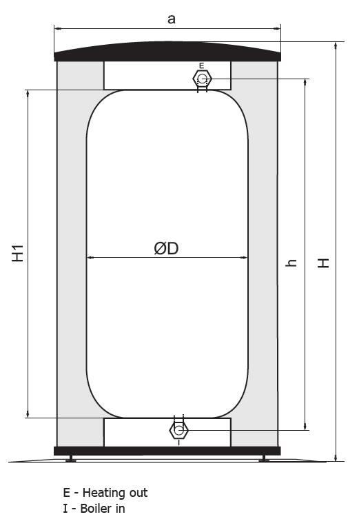 UniQube SQ-B Section Dimensions